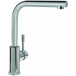 Villeroy & Boch Küchenarmatur 966801LC 14 l/min, flexible Anschlussschläuche, Edelstahl massiv