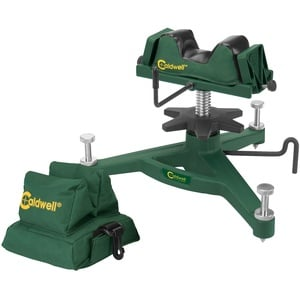 Caldwell BATTENFELD Rock Front Shooting Rest and Rear Bag Combo The, grün, 12 x 5 x 11 inches