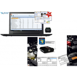 Brotos® Pro-Modul Chiptuning Box und OBD2 Tester Notebook BPM 400