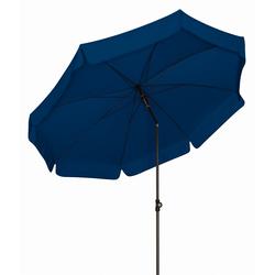 Doppler SUNLINE III Gartenschirm wetterfester Sonnenschirm rund Durchmesser 250cm blau