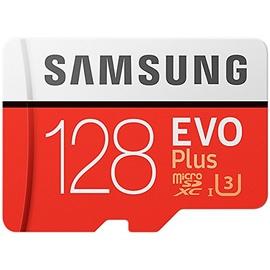 Samsung microSDXC EVO Plus 128GB Class 10 100MB/s UHS-I U3 + SD-Adapter