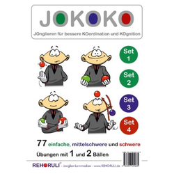 JOKOKO-DIN A5-Karten - SET 1+2+3+4 (DIN A5 Karten)