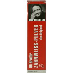 ULI BREITER Zahnweiß Pulver 40 g
