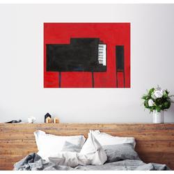 Posterlounge Wandbild, Das Klavier 80 cm x 60 cm