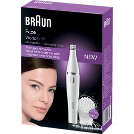 Braun Face 810 Gesichtsepilierer weiss/silber