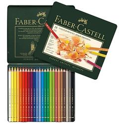 24 FABER-CASTELL POLYCHROMOS Buntstifte farbsortiert