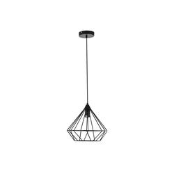 HOMCOM Pendelleuchte Pendelleuchte mit geometrischem Lampenschirm
