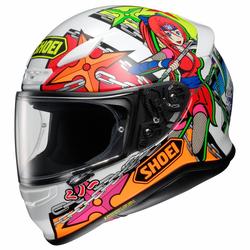 Shoei Helm NXR Stimuli TC-10, Manga Dekor Größe XS