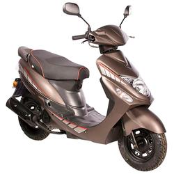 AGM MOTORS Motorroller GMX 460 Sport, 50 ccm, 45 km/h, Euro 4 braun