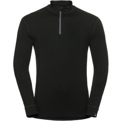 Odlo - T-Shirt ML 1/2 Zip N - Unterwäsche - Größe: XL