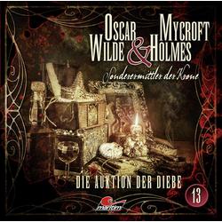 Die Auktion der Diebe als Hörbuch CD von Jonas Maas