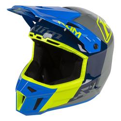 Klim Helm F3 Prizm Kinetik Blue