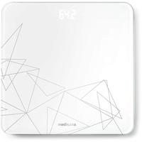 Medisana PS 437 Elektronische Personenwaage Rechteck Grau, Weiß