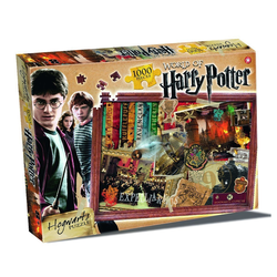 Winning Moves Steckpuzzle World of Harry Potter Puzzle - Hogwarts 1000 Teile (englisch), 1000 Puzzleteile