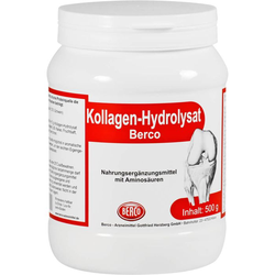 KOLLAGEN HYDROLYSAT Berco Pulver 500 g