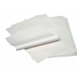 Papstar Verpackungspapier aus Cellulose, Einschlagpapiere, 1 Karton = 10 kg (ca. 862 x 1/4 Bogen), 50 x 37,5 cm, weiß