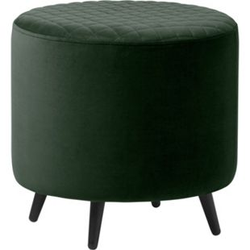 Velours Hocker Otis grün Sitzhocker Polsterhocker Sitzbank Sitzwürfel Fußhocker