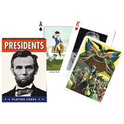 Piatnik Spiel, Kartenspiel - Präsidenten - geeignet u.a. für Bridge, Canasta, Rommé u.v.m.