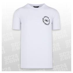 Sportbekleidung T-Shirt weiss schwarz