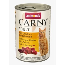 ANIMONDA Carny Rind, Huhn, Entenherzen 800 g