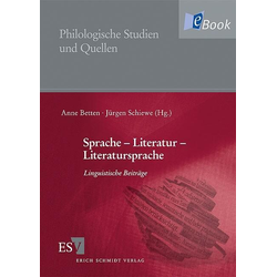Sprache - Literatur - Literatursprache: eBook von