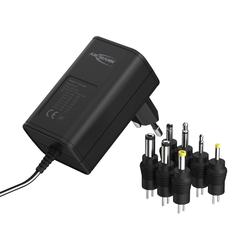 ANSMANN® APS 600 Netzteil 12V - Netzstecker bis max. 600mA (7 universal Adapter) Netzteil