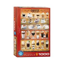 EUROGRAPHICS Puzzle EuroGraphics 6000-0589 Kaffee 1000-Teile Puzzle, Puzzleteile bunt