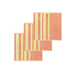 Lashuma Handtuch Set (Set, 3-tlg), Küchentücher Frottee, Geschirrtücher 50x50 cm rosa