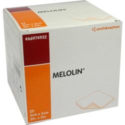 MELOLIN 5X5 WUNDAUFLAGE STERIL