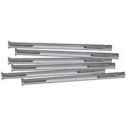 RORO TÜREN & FENSTER Dübel-Set Metall, 132 mm, 6 Stück grau