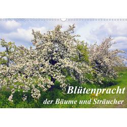 Blütezeit der Bäume und Sträucher (Wandkalender 2021 DIN A3 quer)