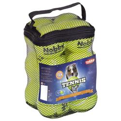 Nobby Tennisball in Netztasche, 12 Stück