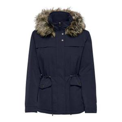 ONLY Short Parka Damen Blau Female L