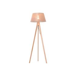 HOMCOM Stehlampe Tripod-Stehlampe