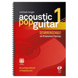 Acoustic Pop Guitar 1 - inkl. CD