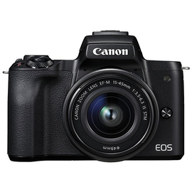 Canon EOS M50 schwarz + EF-M 15-45 mm IS STM