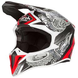 Airoh Motocross-Helm Wraap Octupus Matt