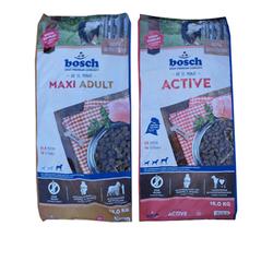 15kg Bosch Maxi Adult + 15kg Bosch Adult Active