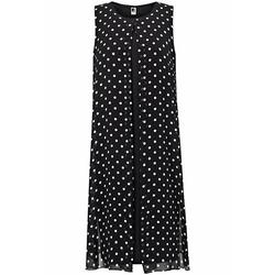 Etuikleid Kleid ohne Arm Anna Aura schwarz/weiß