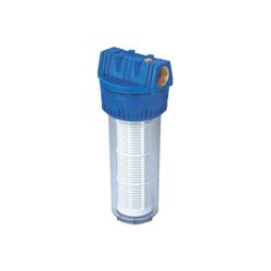 Filter für Hauswasserwerke 1 1/4 lang. mit waschbarem Filtereinsatz ()