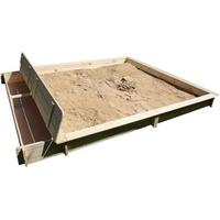 Promex Sandkasten Yanick mit Sitz/Staukasten (509030)