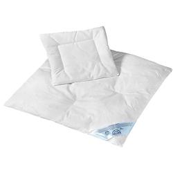 Baby Bettdecke & Kissen Set Feder/Daune NOMITE (15%), 80 x 80 cm und 35 x 40 cm