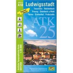 Ludwigsstadt 1 : 25 000