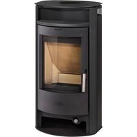 Fireplace Porto Stahl schwarz