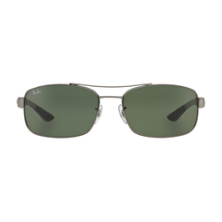 Ray-Ban 0RB8316 004 Metall Rechteckig Grau/Grau Sonnenbrille, Sunglasses   0,00   0,00   0,00