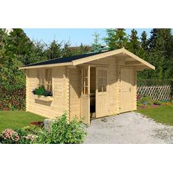 Nordic Holz Gartenhaus Borkum 2, BxT: 410x320 cm