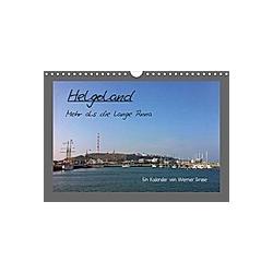 Helgoland (Wandkalender 2021 DIN A4 quer)