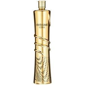 Roberto Cavalli Vodka Gold Edition Wodka, 1 l
