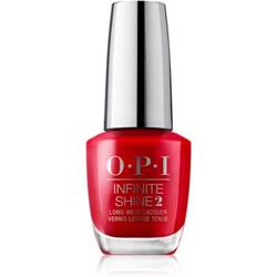 OPI Infinite Shine Nagellack mit Geleffekt Big Apple Red 15 ml