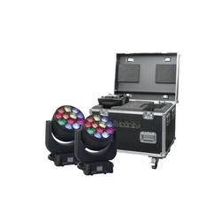 Infinity iW-1240 RDM LED Moving Head Wash 2er SET
